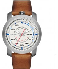 Diesel DZ1749 Mens Rig Light Brown Leather Strap Watch