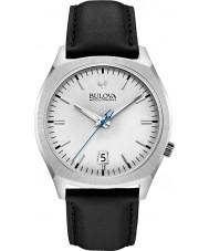 Bulova 96B213 Mens BA II Black Leather Strap Watch