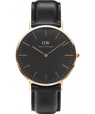 Daniel Wellington DW00100127 Classic Black Sheffield 40mm Watch