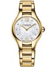 Raymond Weil 5124-P-00985 Ladies Noemia Gold Plated Diamond Watch