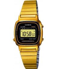 Casio LA670WEGA-1EF Collection Gold Plated Digital Watch