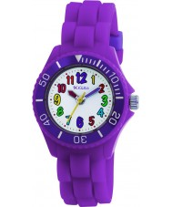 Tikkers TK0010 Kids Purple Rubber Watch