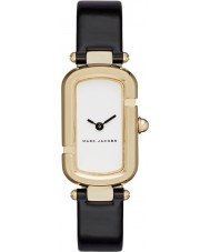 Marc Jacobs MJ1487 Ladies Jacobs Black Leather Strap Watch