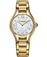 Raymond Weil 5124-PS-00985 Ladies Noemia Gold Plated Diamond Watch