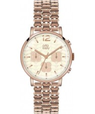 Orla Kiely OK4004 Ladies Frankie Chronograph Rose Gold Plated Watch