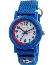 Tikkers TK0113 Boys Blue Nylon Strap Watch