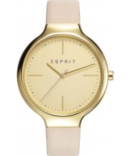Esprit ES108142002 Ladies TP10814 Cream Leather Strap Watch