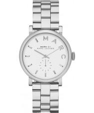 Marc Jacobs MBM3242 Ladies Baker Silver Tone Watch