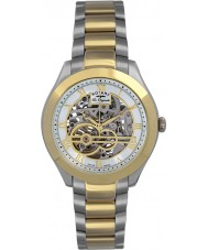 Rotary GB90515-10 Mens Les Originales Jura Silver Gold Automatic Watch