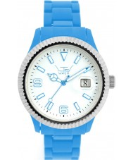 LTD Watch White Blue Watch