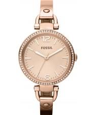 Fossil ES3226 Ladies Georgia Rose Gold Watch
