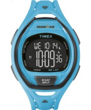 Timex TW5M01900 Ironman 150-Lap Full Size Sleek Blue Resin Strap Watch