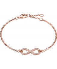 Thomas Sabo Ladies 18k Rose Gold Plated Eternity of Love Infinity Bracelet