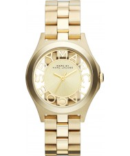 Marc Jacobs MBM3292 Ladies Henry Skeleton Gold Tone Watch