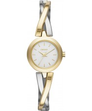 DKNY NY2171 Ladies Crosswalk Two Tone Steel Bracelet Watch