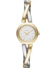 DKNY NY2171 Ladies Crosswalk Gold Silver Watch