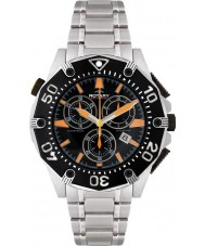 Rotary AGB90036-C-04 Mens Aquaspeed Black Steel Sports Watch