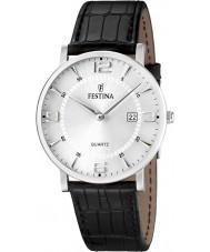 Festina F16476-3 Mens Leather Strap Watch