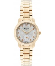 Rotary LB02702-41 Ladies Timepieces Cambridge Rose Gold Plated Watch