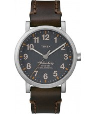 Timex TW2P58700 Mens Waterbury Brown Leather Strap Waterbury Watch