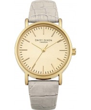 Daisy Dixon DD006WG Ladies Georgia Grey Leather Strap Watch