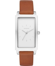 Skagen SKW2464 Ladies Hagen Brown Leather Strap Watch