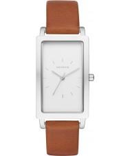 Skagen SKW2464 Ladies Hagen Brown Leather Strap Watch