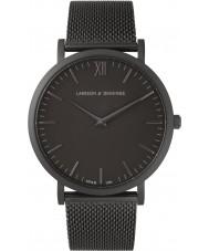 Larsson and Jennings LGN40-CMBLK-C-Q-M-BB-O Lugano Watch