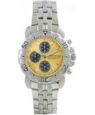 Krug Baümen 7186G-Y Sportsmaster Yellow Sports Chronograph Watch