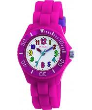 Tikkers TK0011 Kids Fluorescent Pink Watch