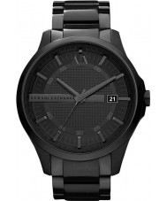 Armani Exchange AX2104 Mens Black IP Bracelet Dress Watch