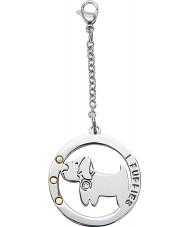 I Puppies PA-002 Dog Steel Crystal Medallion