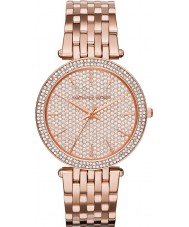 Michael Kors MK3439 Ladies Darci Stone Set Rose Gold Plated Watch