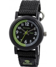 Tikkers TK0114 Boys Black Nylon Strap Watch