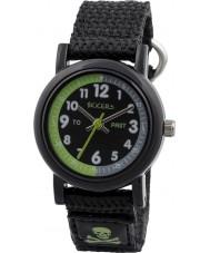 Tikkers TK0114 Boys Black Nylon Strap Watch