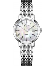 Rotary LB90153-07 Ladies Les Originales Windsor Silver Steel Bracelet Watch