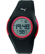 Puma PU911191007 Tonic Black Silicone Strap Watch