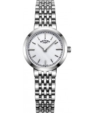 Rotary LB05060-07 Ladies Timepieces Canterbury Silver Steel Bracelet Watch