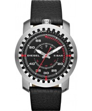 Diesel DZ1750 Mens Rig Black Leather Strap Watch
