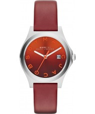 Marc by Marc Jacobs The Slim Mens Red Orange Watch