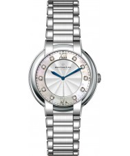 Dreyfuss and Co DLB00060-D-01 Ladies 1974 Diamond Set Silver Watch