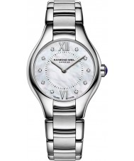 Raymond Weil 5124-ST-00985 Ladies Noemia Silver Steel Diamond Watch