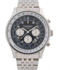 Krug-Baumen 600303DSA Mens Air Traveller Diamond Automatic Watch