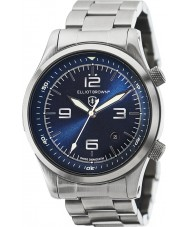 Elliot Brown 202-007-B02 Mens Canford Silver Steel Bracelet Watch
