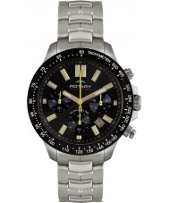 Rotary AGB00074-C-04 Mens Aquaspeed Black Steel Chronograph Watch