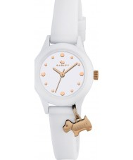 Radley RY2320 Ladies Watch It! White Strap Watch with Rose Gold Highlights