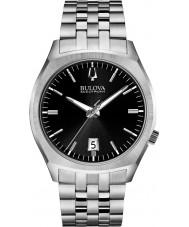 Bulova 96B214 Mens BA II Silver Steel Bracelet Watch