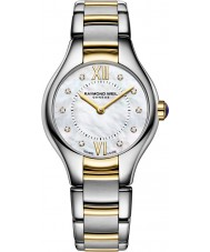 Raymond Weil 5124-STP-00985 Ladies Noemia Two Tone Steel Diamond Watch