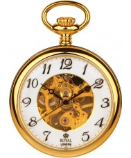 Royal London 90002-02 Mens Mechanical Pocket Watch with Chain