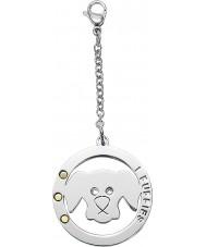 I Puppies PA-003 Dog Steel Crystal Medallion